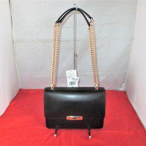 Michael Kors Jade Leather Gusset Shoulder Bag